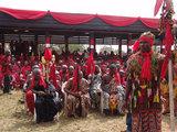 Ga Mantse Funeral at the Ga Mantse Palace, Feo Eyeo, Kaneshie